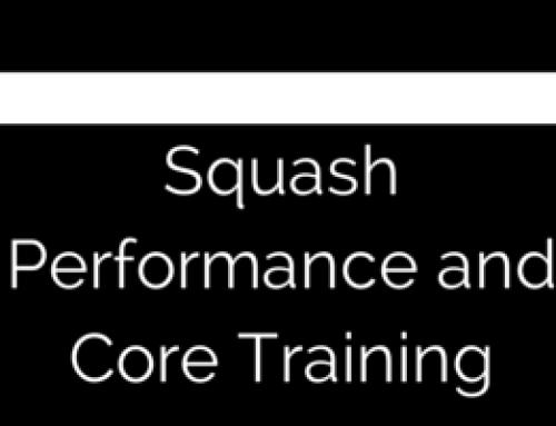 FAQ: Core training for squash.