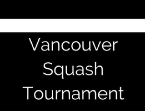 Physio at the PCO squash Tournament