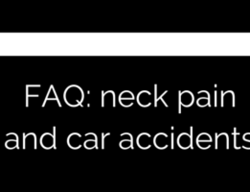FAQ – I just got in a car accident, what should I do?