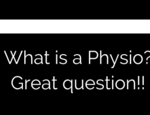 FAQ: What is a physio? Great question!!