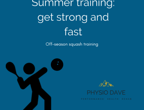 Summer squash training – get strong and get fast.