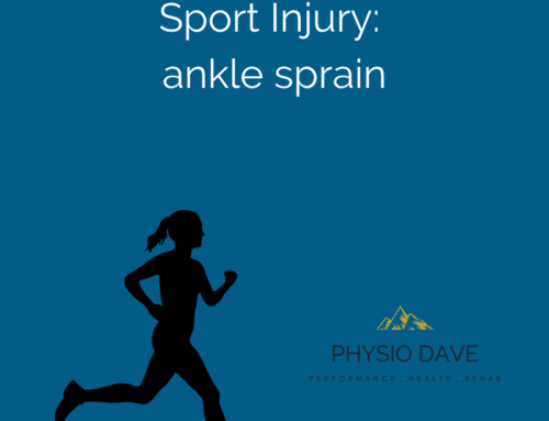 Sport injuries:  Ankle sprains