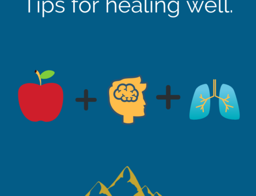 Tips for healing well